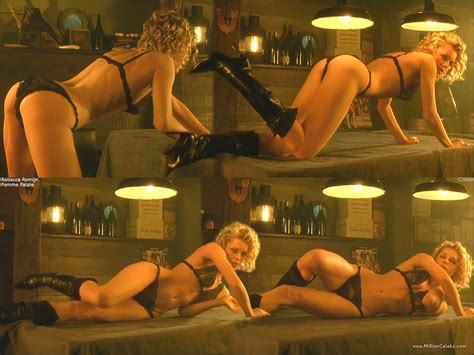 Rebecca Romijn Nude Pictures Gallery Nude And Sex Scenes