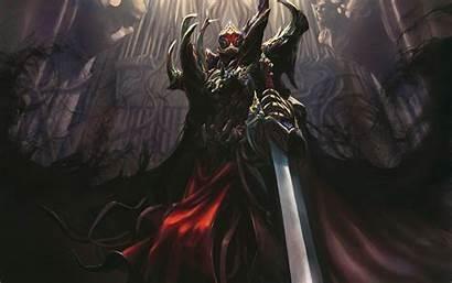 Death Knight Fantasy Knights Dark Armor Artwork