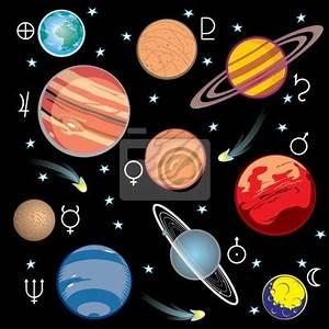 Adesivo planetas do sistema solar - Plutão • Adesivo da ...