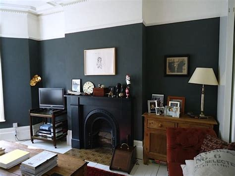 farrow and ball downpipe chimney breast victorian living
