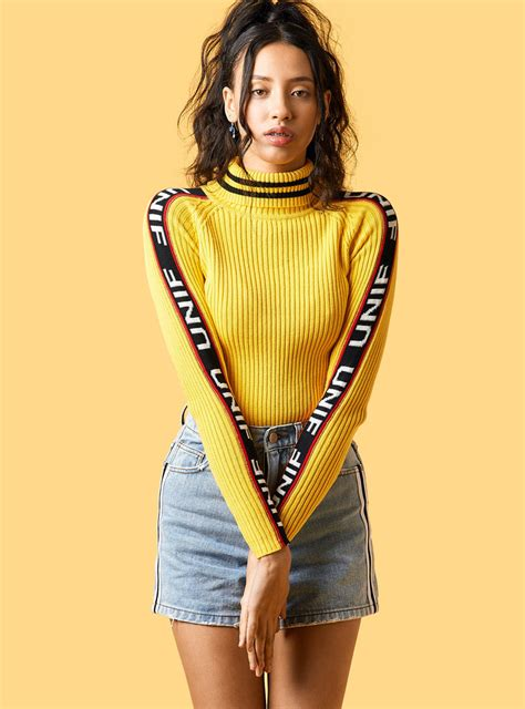 Badsport Mock Neck | Unif Clothes and Fashion