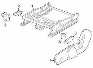 Saturn Vue Knob  Lumbar  Support  Seat  Driver Seat