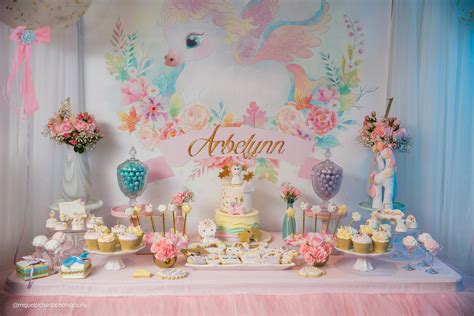 baby unicorn st birthday party paarteezcom