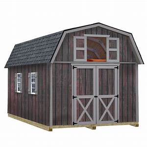 best barns woodville 10 ft x 16 ft wood storage shed kit With 16 x 28 barn kit