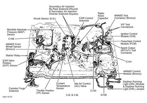 1986 302 Engine Wiring Diagram by Ford F150 Engine Diagram 1989 1994 Ford F150 Xlt 5 0