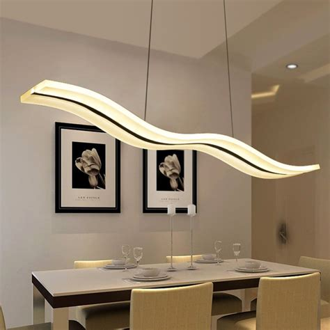 Led Lighting In Dining Room by Led Modern Chandeliers For Kitchen Light Fixtures Home