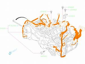2020 Subaru Forester Engine Wiring Harness  Wiring Harness
