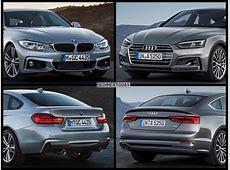 Vergleich Audi A5 Sportback 2017 vs BMW 4er Gran Coupé