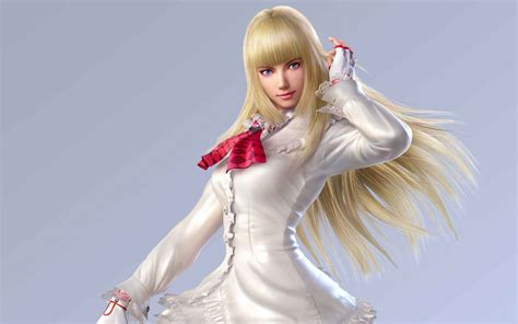 wallpaper lili tekken  games