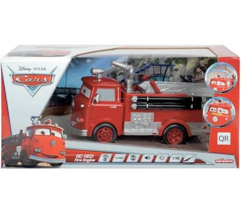 smoby disney cars v 233 hicule radiocommand 233 camion pompier jouets carrefour ventes pas cher