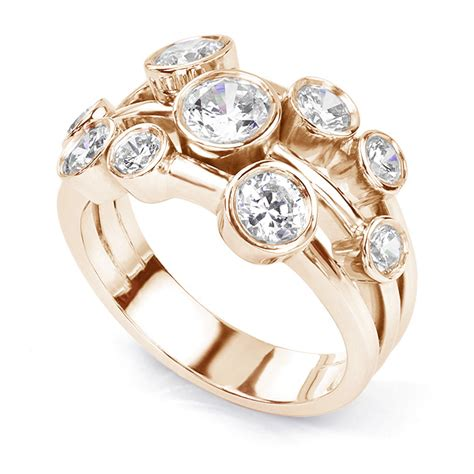 Delancey 150 Carat Diamond Bubble Ring. Eclectic Wedding Wedding Rings. Budget Engagement Rings. Glamorous Engagement Rings. Rate Wedding Rings. Mystery Rings. Cool Band Engagement Rings. 2 Million Dollar Wedding Rings. Spinning Rings