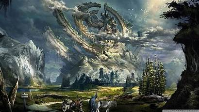 Fantasy Wallpapers Backgrounds Desktop Resolution Phone Awesome