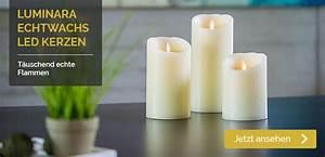 Led Kerzen Echtwachs : luminara ~ Eleganceandgraceweddings.com Haus und Dekorationen