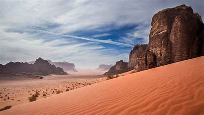 Wadi Rum Desert Jordan Sand Dunes Landscape