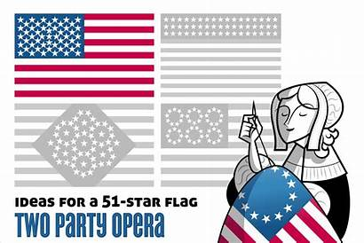 State Rico Puerto 51st Flag Star Related
