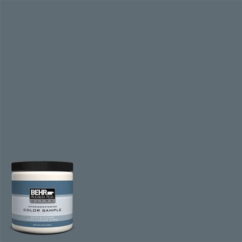 BEHR Premium Plus Ultra 8 oz #740F4 Dark Storm Cloud
