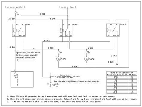 2011 Chevy Silverado Cooling Fan Wiring Diagram by Efan Harness 101 Performancetrucks Net Forums