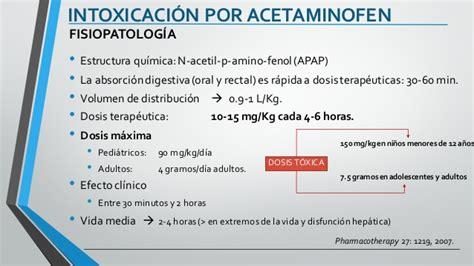 acetaminofen dosis