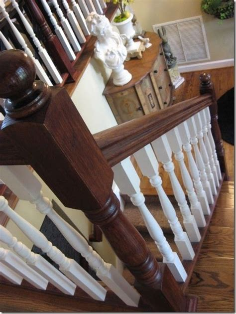 Restaining Banister by 17 Best Images About Stairs Ideas Tutorials On