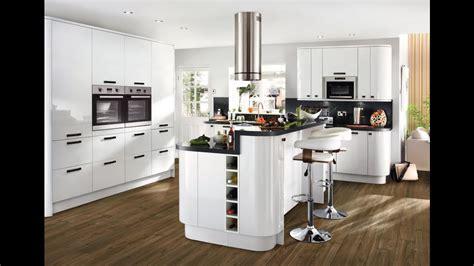 Glendevon White-contemporary Kitchen From Howdens
