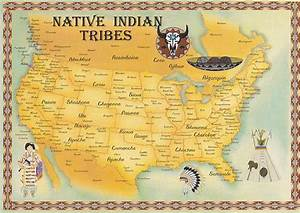 Native Indian Tribes Map Flickr Photo Sharing