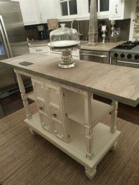 buffet kitchen island repurposed home and home improvements on pinterest