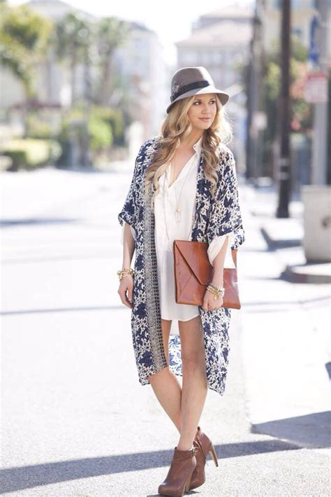 How to Style Trendy Women Floral Kimono Best Tips u2013 Designers Outfits Collection