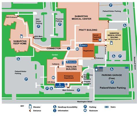 hospital cus map samaritan health systems