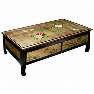 Table Basse Asiatique : stunning table basse asie pictures awesome interior home satellite ~ Melissatoandfro.com Idées de Décoration