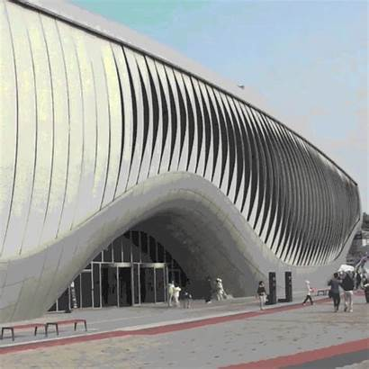 Buildings Kinetic Moving Facade Architecture Skin Shape