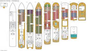 Deck Plan by Seabourn Encore Deck Plans Diagrams Pictures