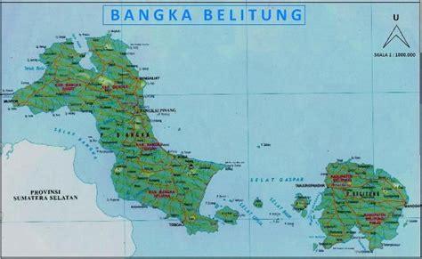 peta provinsi kepulauan bangka belitung latar belakang