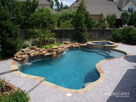 Aquascapes Pools by Spa Pool Renovations Aquascapes Houston
