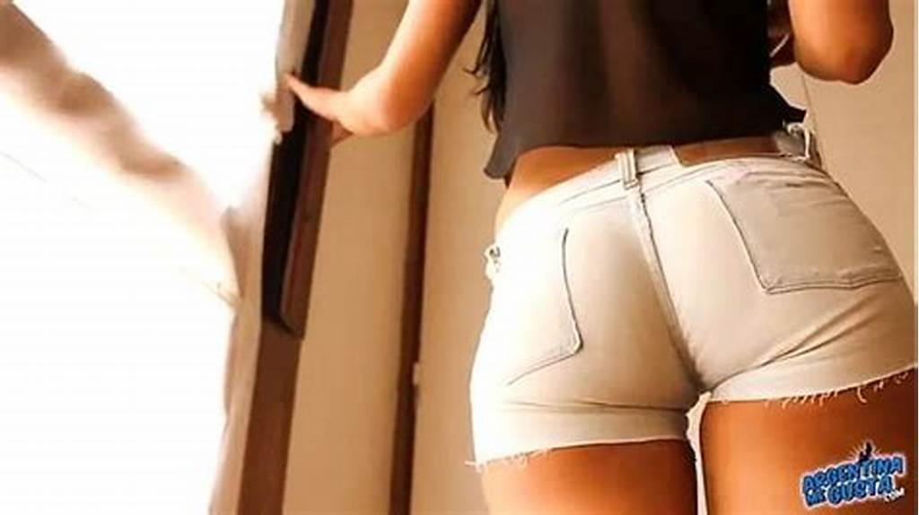 #Most #Round #Ass #Teen #Wearing #Tight #Denim #Shorts! #Cameltoe