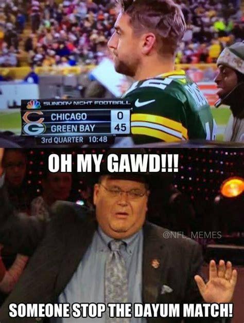 Packers Bears Memes - stop the match inspiration pinterest jay cutler