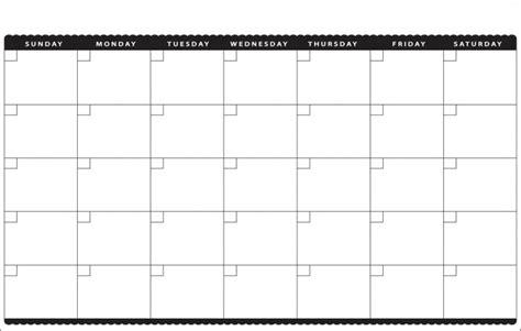 blank monthly calendar template printable calendar