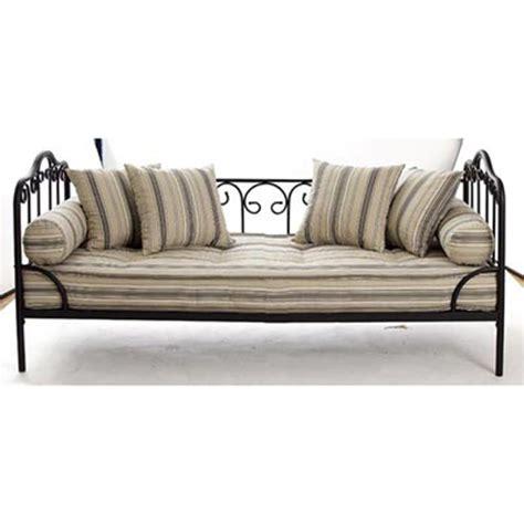 canapé 190 cm banquette matelas capitonné lit enfant futon vasp