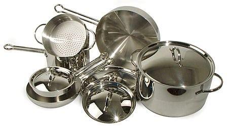revere  piece pro  cookware  overstockcom shopping great deals  revere