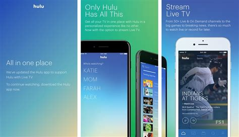 Hulu Merges Live Tv App Features Into Its Core Ios App