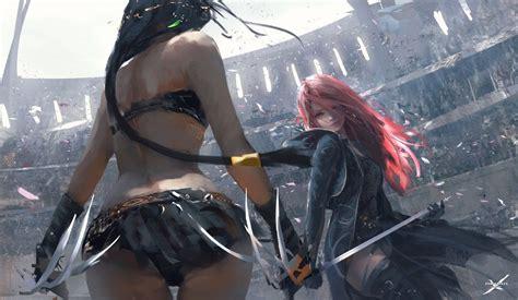 Wang Ling Female Anime Female Warrior Woman