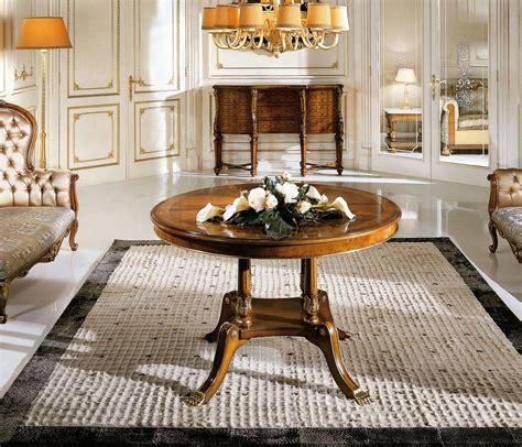 esszimmer le runder tisch runder tisch in klassischen luxus stil f 252 r esszimmer