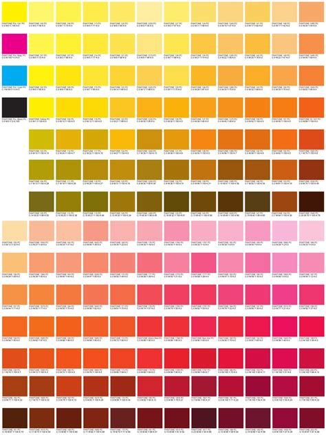 cmyk colors cmyk color code charts my color
