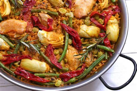 cuisine paella paella