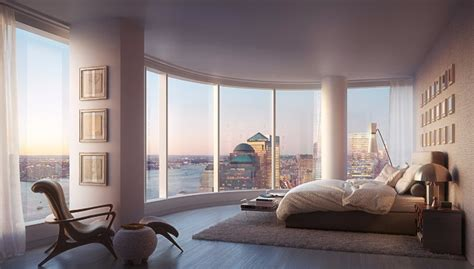 Bedroom Design Ideas New York by 10 Manhattan Master Bedrooms With Stunning Views Master