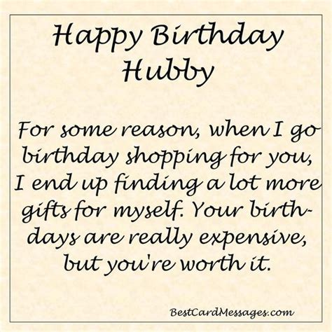 Maybe you would like to learn more about one of these? Funny Birthday Message for your Husband. #birthday #wishes #husband | Birthday Messages and ...