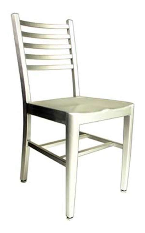 aaa furniture 805a brushed aluminum restaurant patio chair