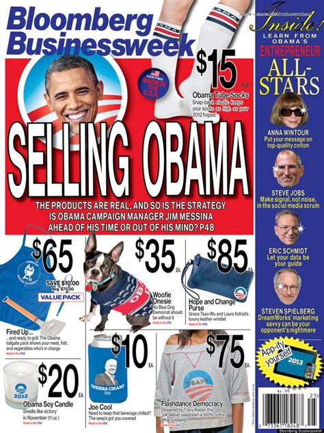 bloomberg businessweek selling obama cover photo