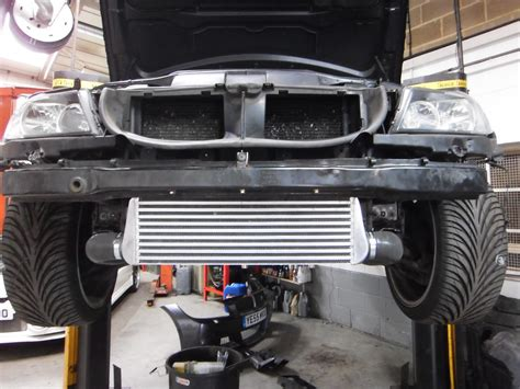 bmw  turbo intercooler upgrade perfect touch