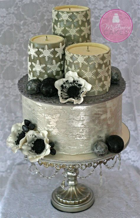 edible candles antique silver leaf tutorials mcgreevy