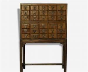 Meuble D Apothicaire : meuble d apothicaire 30 tiroirs bois mat riau bois couleur thnique 63502 ~ Teatrodelosmanantiales.com Idées de Décoration